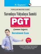 Navodaya Vidyalaya Samiti : PGT (Common Subject) Recruitment Exam Guide