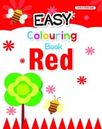Easy Colouring Book (Red)