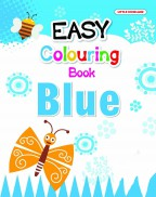 Easy Colouring Book (Blue)