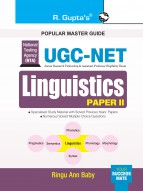 UGC-NET: Linguistics (Paper II) Exam Guide