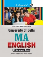 University of Delhi (DU) M.A. English Entrance Test Guide