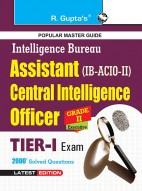 IB-ACIO: Grade-II/Executive (Tier-I) Exam Guide