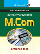 University of Kashmir: M.Com Entrance Test Guide