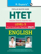 HTET (PGT) Post Graduate Teacher (Level-3) English Exam Guide