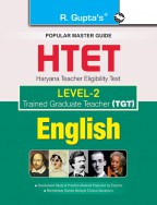 HTET (TGT) Trained Graduate Teacher (Level-2) English (Class VI to VIII) Exam Guide