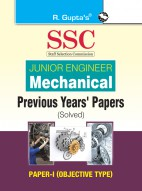 SSC: Junior Engineer Mechanical Previous Years Paper (Solved): PAPER-I (Objective Type)