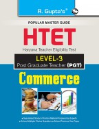HTET (PGT) Post Graduate Teacher (Level-3) Commerce Exam Guide