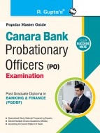 Canara Bank (Probationary Officers) Post Graduate Diploma in Banking & Finance Exam Guide