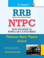 RRB: NTPC (1st Stage Exam) Previous Year's Papers (Solved)