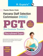 Haryana Staff Selection Commission (HSSC): PGT Common Subject Recruitment Exam Guide
