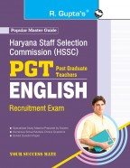 Haryana Staff Selection Commission (HSSC): PGT English Recruitmet Exam Guide