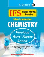 IFS: Main Exam (Chemistry) Previous Years' Papers (Solved)