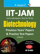 IIT-JAM: M.Sc. (Biotechnology) Previous Years & Practice Test Papers (Solved)
