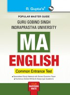 GGSIPU: MA English (CET) Entrance Test Guide