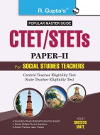 CTET/STETs: Paper-II (Social Studies) Exam Guide: For Classes VI to VIII (Elementary Stage)