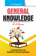 General Knowledge At A Glance: for Various  General Knowledge Tests