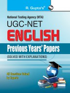 UGC-NET: English Previous Years' Papers (Solved)