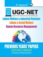 UGC-NET: Labour Welfare & Industrial Relations/Labour & Social Welfare/Human Resource Management - Previous Years' Papers (Solved)