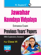 Jawahar Navodaya Vidyalaya (JNV) Entrance Exam (Class VI): Previous Years Papers (Solved)