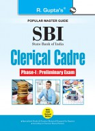 SBI : Clerical Cadre (Junior Associates) Phase-I Preliminary Exam Guide (Big Size)