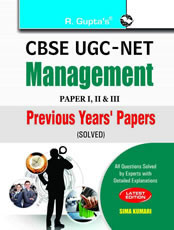 UGC-NET: Management Previous Years Papers (Paper I, II & III) Solved