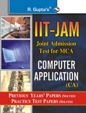 IIT-JAM: M.Sc. (Computer Application) Previous Papers (Solved)