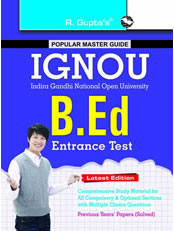 IGNOU B.Ed. Entrance Exam Guide