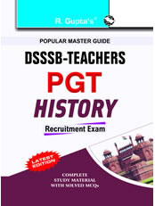DSSSB Teachers: PGT History Exam Guide