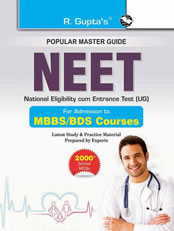 NEET Entrance Exam Guide: for Admission to MBBS/BDS Courses