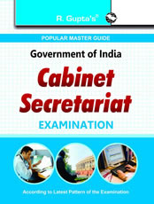 Cabinet Secretariat Exam Guide (TIER-I)