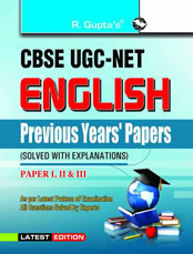 UGC-NET: English (Previous Papers Solved)