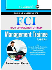 FCI: Management Trainee (Paper-I) Recruitment Exam Guide