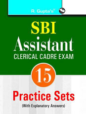 SBI: Assistants (Clerical Cadre) Practice Papers: With Tips for Online Test