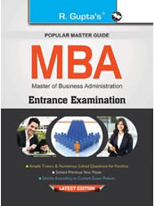 MBA Entrance Examinations Guide (Big Size)