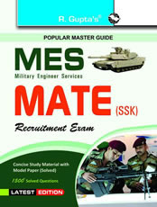MES (Military Engineering Services) MATE (SSK) Recruitment Exam Guide