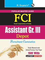 FCI Assistant Grade III (Depot) Recruitment Exam Guide