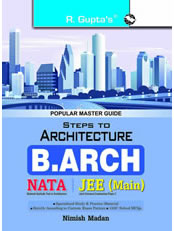 Steps to Architecture : B.Arch (NATA/JEE) Main Exam Guide