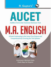 AUCET (Andhra University Common Entrance Test) : M.A. English