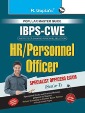 IBPS-Specialist Officers (HR/Personnel Officer)-Scale-I Common Written Exam Guide