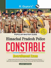 Himachal Pradesh Police : Constable Recruitment Exam Guide