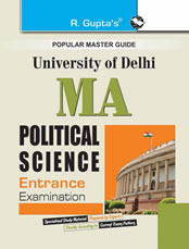 Delhi University M.A. Political Science Entrance Exam Guide