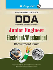 DDA : Junior Engineer (Electrical/Mechanical) Recruitment Exam Guide