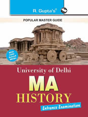 University of Delhi (DU) M.A. History Entrance Exam Guide