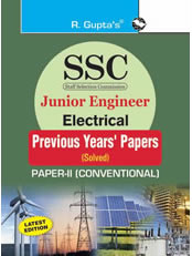 SSC: Junior Engineer Electrical (Paper-II: Conventional): Previous Years' Papers (Solved)