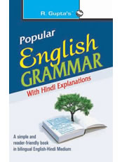 Popular English Grammar: with Hindi Explanations
