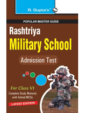 Rashtriya Military School Entrance Exam Guide (Class VI)