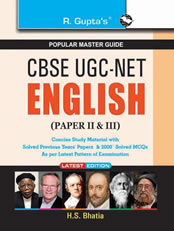 CBSE UGC-NET/SET English (Paper II & III) Exam Guide