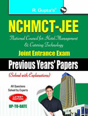 NCHMCT-JEE (National Council for Hotel Management and Catering Technology) Joint Entrance Exam (Previous Years Papers)