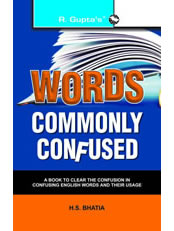 Words Commonly Confused
