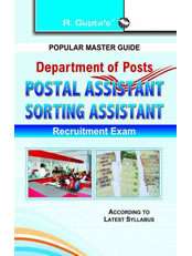 Department of Posts: Postal Assistant/Sorting Assistant Exam Guide